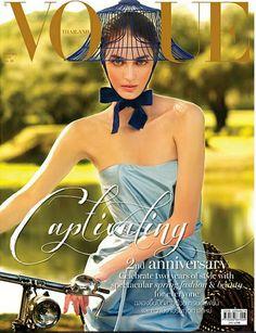 Vogue Thailand February 2015 | Zuzanna Bijoch | Nat Prakobsantisuk