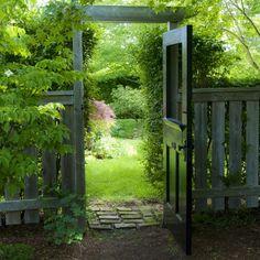 Love this gate door.