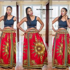 NEW Amika  Skirt by THEAFRICANSHOP on Etsy, £45.00