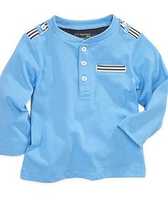 Baby Boys Henley Top