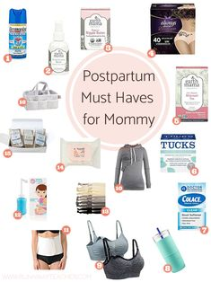 baby must haves Postpartum Must Haves for Mommy - Runaway Teacher Mama Baby, Baby Boy, Baby Must Haves, New Born Must Haves, Baby Registry Must Haves, Baby Registry Items, Postpartum Must Haves, Postpartum Recovery, Postpartum Care
