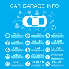 Car garage info template vector material - https://www.welovesolo.com/car-garage-info-template-vector-material/?utm_source=PN&utm_medium=welovesolo59%40gmail.com&utm_campaign=SNAP%2Bfrom%2BWeLoveSoLo