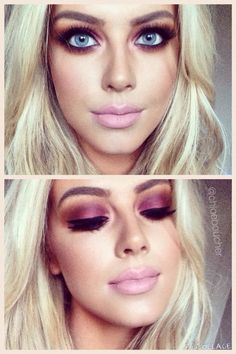 Love this look #mac #cranberry