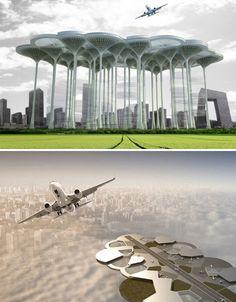 The Future Takes Flight: 13 Forward-Thinking Airport Ideas