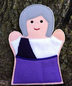Mary  Bible Character  Easter Story Set  Hand by ThatsSewPersonal