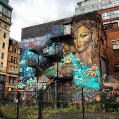 Northern Quarter   #Manchester #street #culture #wallart #art #graffiti #spray #style #streetart #northern #quarter