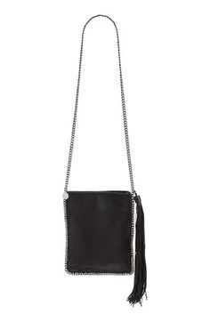 STELLA MCCARTNEY 'Falabella' Faux Leather Shoulder Bag. #stellamccartney #bags #shoulder bags #leather #polyester #lining