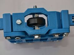 Modular carriage for rails. It was designed for Tevo Tarantula to replace stock X Carriage. But it can be used for others with rails 4020 and s Arduino Cnc, Cnc Router, Xy Plotter, Aircraft Instruments, Useful 3d Prints, Cnc Milling Machine, 3d Printer Projects, Cnc Plasma, Diy Electronics
