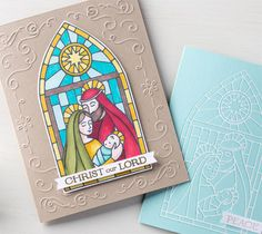 New christian Christmas photopolymer stamp set by Stampin' Up!  - Gentle Peace $15.95