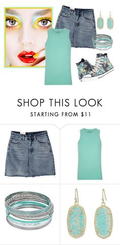"""Converse"" by sjlew ❤ liked on Polyvore featuring Louis Vuitton, Mudd and Kendra Scott"
