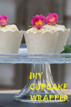 DIY Cupcake Wrappers Template - Cupcakepedia