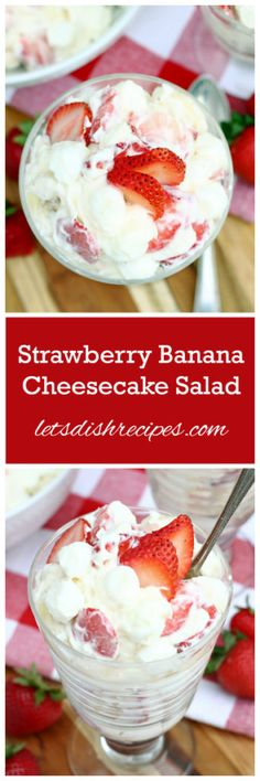... Salad on Pinterest | Strawberry Banana, Salad and Vanilla Yogurt