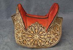 Antique Saddle North African Islamic Maghrib Arabian Spahis 19th century