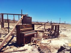 Bombay Beach: Once a famous resort, now a beach made of bones   http://www.hoboahle.com/bombay-beach/