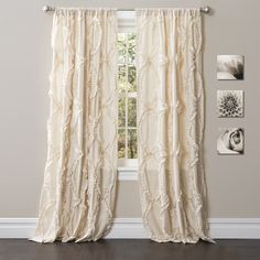 Lush Decor 84-inch Avon Curtain Panel | Overstock.com Shopping - Great Deals on Lush Decor Curtains