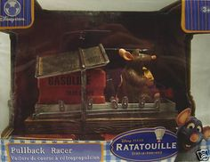 Ratatouille Pullback Racer Let ER Rip Disney New Cool | eBay
