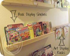 book display shelves - Google Search
