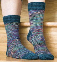 #ClippedOnIssuu from Knitting socks with handpainted yarn