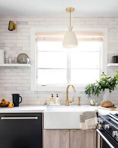 More @rejuvenation + @fireclaytile magic on display in @citysage's kitchen remodel. Only a few days left to enter our partner giveaway with @fireclaytile, @decoristofficial, and @brightcellars. Link in profile to enter + all the details! Design by @citysage and @studiomcgee, photo by @monicawangphoto #myonepiece