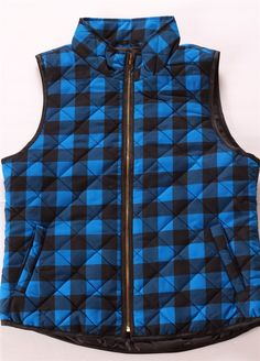 Buffalo Check Vest ~ 2 Colors! {Jane Deals}
