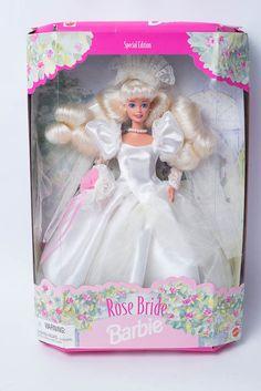Mattel Barbie Rose Bride Collector Puppe selten | eBay