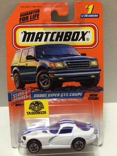(TAS009325) - Matchbox - Stars & Stripes Dodge Viper GTS Coupe #1 of 75