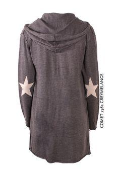 Comet 7381 Greymelange von KD Klaus Dilkrath #kdklausdilkrath #kd #dilkrath #kd12 #outfit #jacket #star #comet #grey