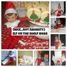 East Coast Mommy: 20 Nice {Not Naughty} Elf on the Shelf Ideas