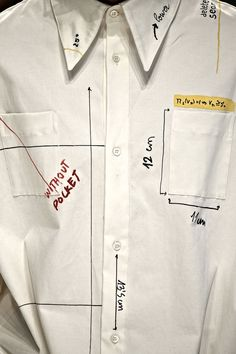 Shirt construction #menswear #simplydapper #stylish