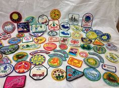 Girl Scout Patch Lot - 62 Patches - 1979 and up - Texas  $45