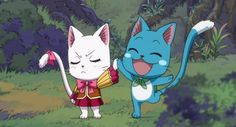 Happy and Carla - Fairy Tail