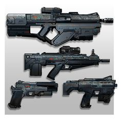 Tech weapons