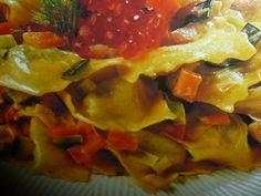 ravioli ricette - con spada e verdure