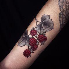 Rasperry tattoo
