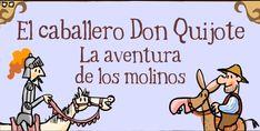 Trabajamos el Quijote en infantil y primaria -Orientacion Andujar