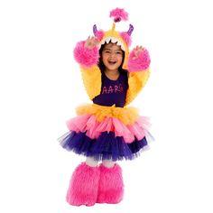 Girls Aarg Monster Costume