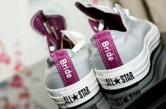 my fashionable blog of women deals: Converse All Star Purple Bridal Wedding Shoes My Deepest Concern