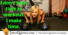 Here are motivational fitness quotes and sayings. These picture quotes will inspire you to workout more and get in shape. Fitness Motivation Quotes, Make Time, Get In Shape, Picture Quotes, Best Quotes, Workout, Sayings, Getting Fit, Best Quotes Ever