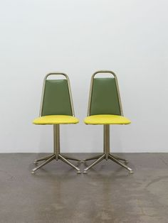 "Yuki Kimura ""eleven"", 2009 two identical child chairs 32 x 34 x 68 cm each""The Cosmos as Metaphor"" 