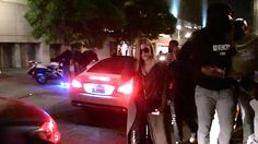 Khloe Kardashian and NBA beau James Harden were spotted at they stepped out to Lure Nightclub in Los Angeles.