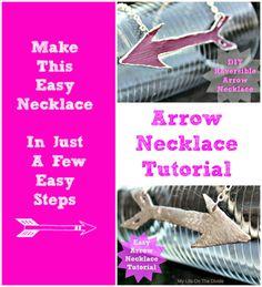 Easy Tutorial  Arrow Necklace