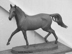 Horse Sculptures and Figurines | Horse sculptures : Horse statue : Horse Art by Mary Sand - Arabian ...