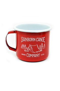 This is the last camping mug you'll ever need. Constructed of a thick, sturdy steel...