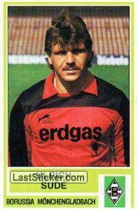 Ulrich Sude 1984 85 Borussia Monchengladbach Borussia Monchengladbach Vfl Borussia Vfl Borussia Monchengladbach