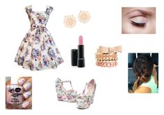 """""""Party :*"""" by elena-dragomir ❤ liked on Polyvore featuring Charlotte Russe and ALDO"""