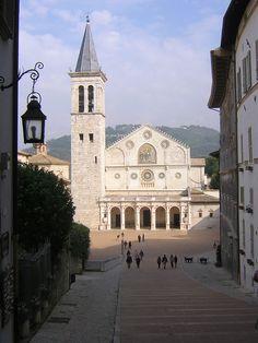 spoleto duomo Cathedral of Spoleto , Italy