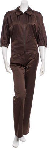 Bottega Veneta Two-Piece Pantsuit Women's Suits, Bottega Veneta, Suits For Women, Just For You, Stylish, Tops, Jumpsuits For Women, Woman Suit