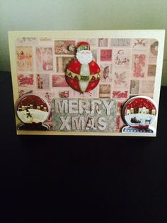 Christmas cards made by me!