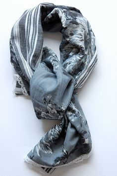 I never travel without a scarf. It makes a great neck warmer, wrap, cover for a cold head & ears & sleep mask.
