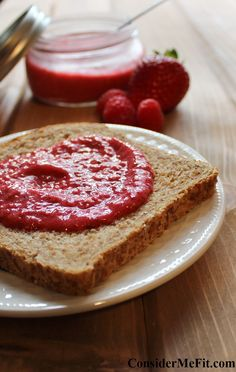 Fresh Berry Chia Seed Jam - Consider Me Fit - PIN and FOLLOW! http://www.considermefit.com/articles/Fresh_Berry_Chia_Seed_Jam #rawchiaseedjam #raspberrychiaseedjam #canningchiaseedjam #chiaseedjampaleo
